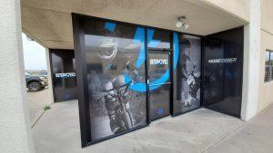 Denton Sign Company full vinyl window wraps graphics 300x169